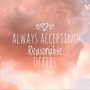 Other - Make me an offer!💕